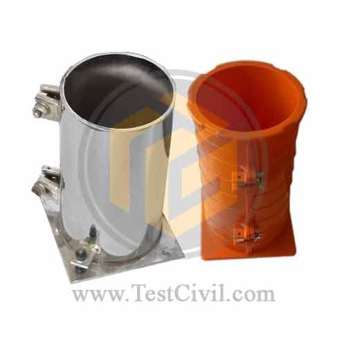 قالب استوانه ای بتن پلاستیکی و فلزی تولید شرکت بهراد سازان